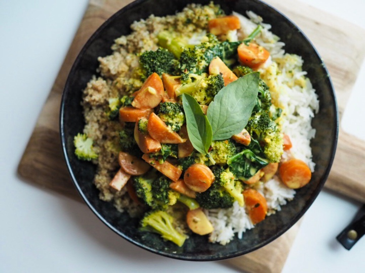 Veganes Gemüse-Curry